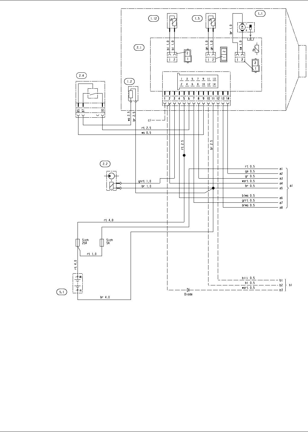 Ausgezeichnet 6 9 Glühkerzenschaltplan Bilder - Elektrische ...