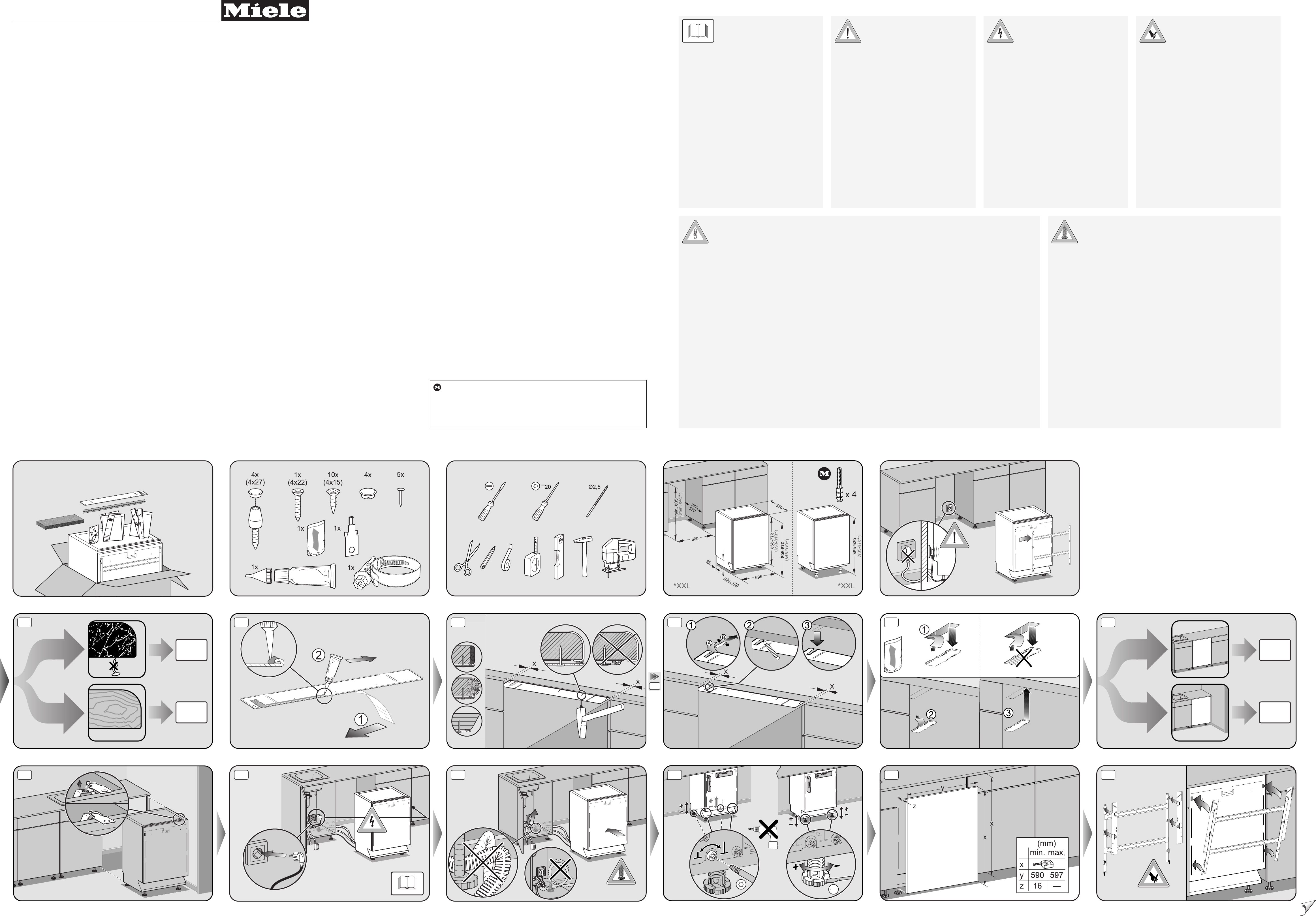 handleiding miele g 658 3 scvi plus pagina 1 van 2 alle talen. Black Bedroom Furniture Sets. Home Design Ideas