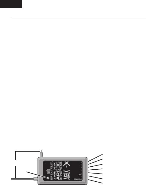Handleiding Horizon Hobby AR636 - 6-Channel AS3X Sport
