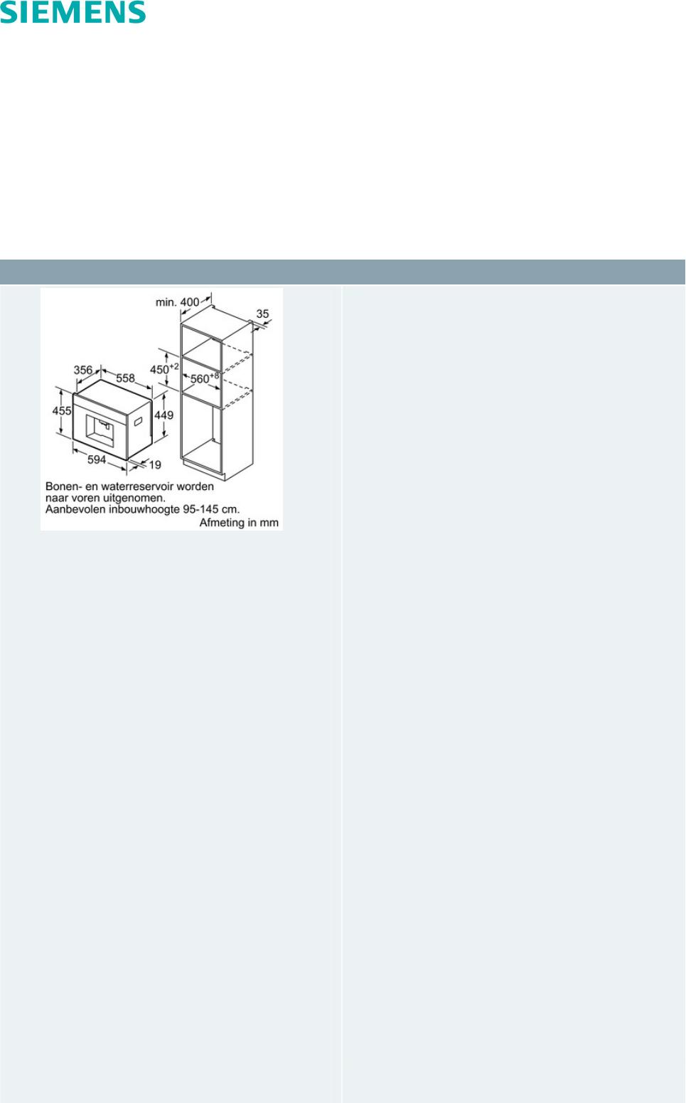 Handleiding Siemens CT636LES1 (pagina 1 van 3) (Nederlands)