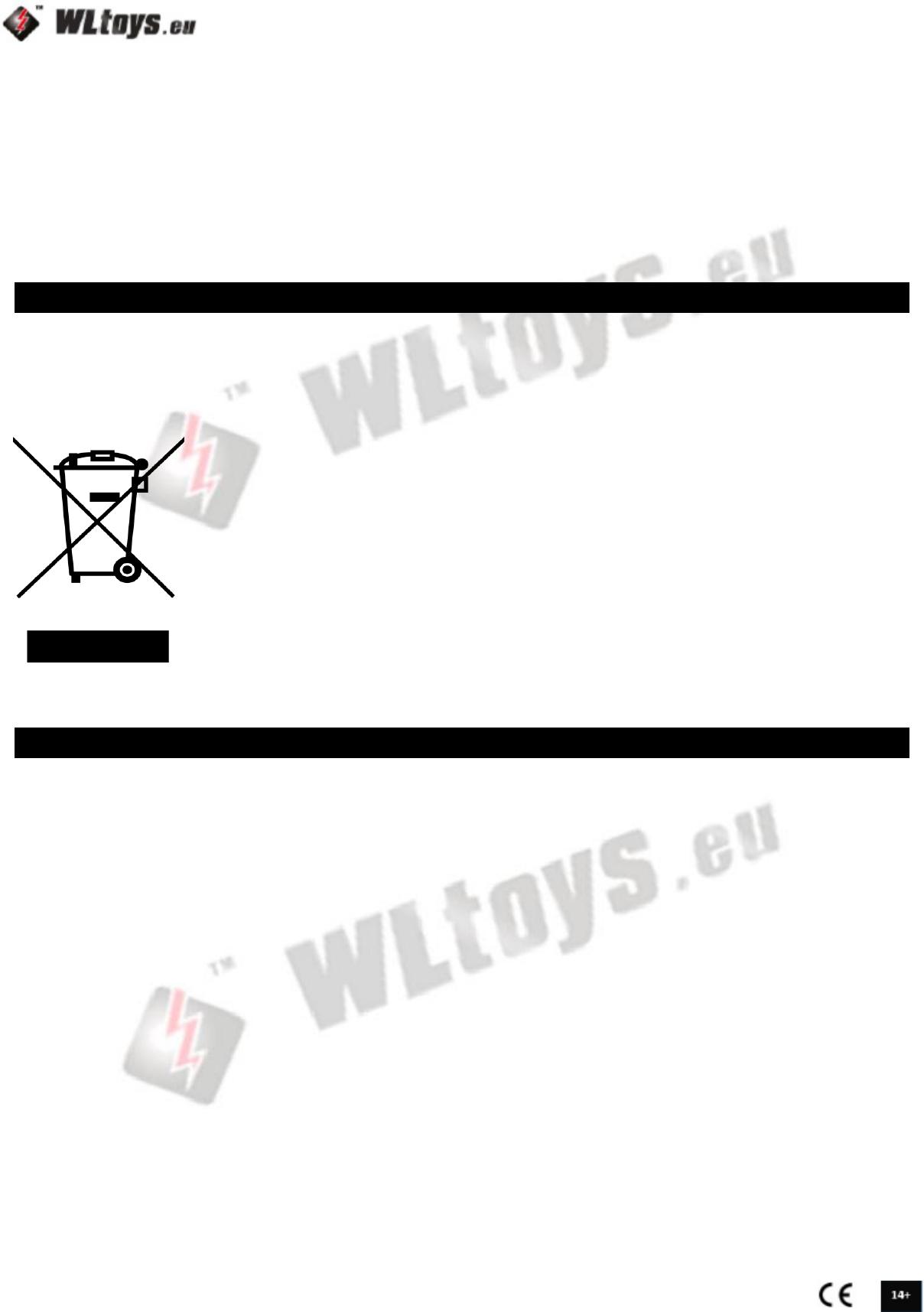 Handleiding Wltoys V323 Skywalker Hexacopter Pagina 2 Van 9 English Wiring Diagram