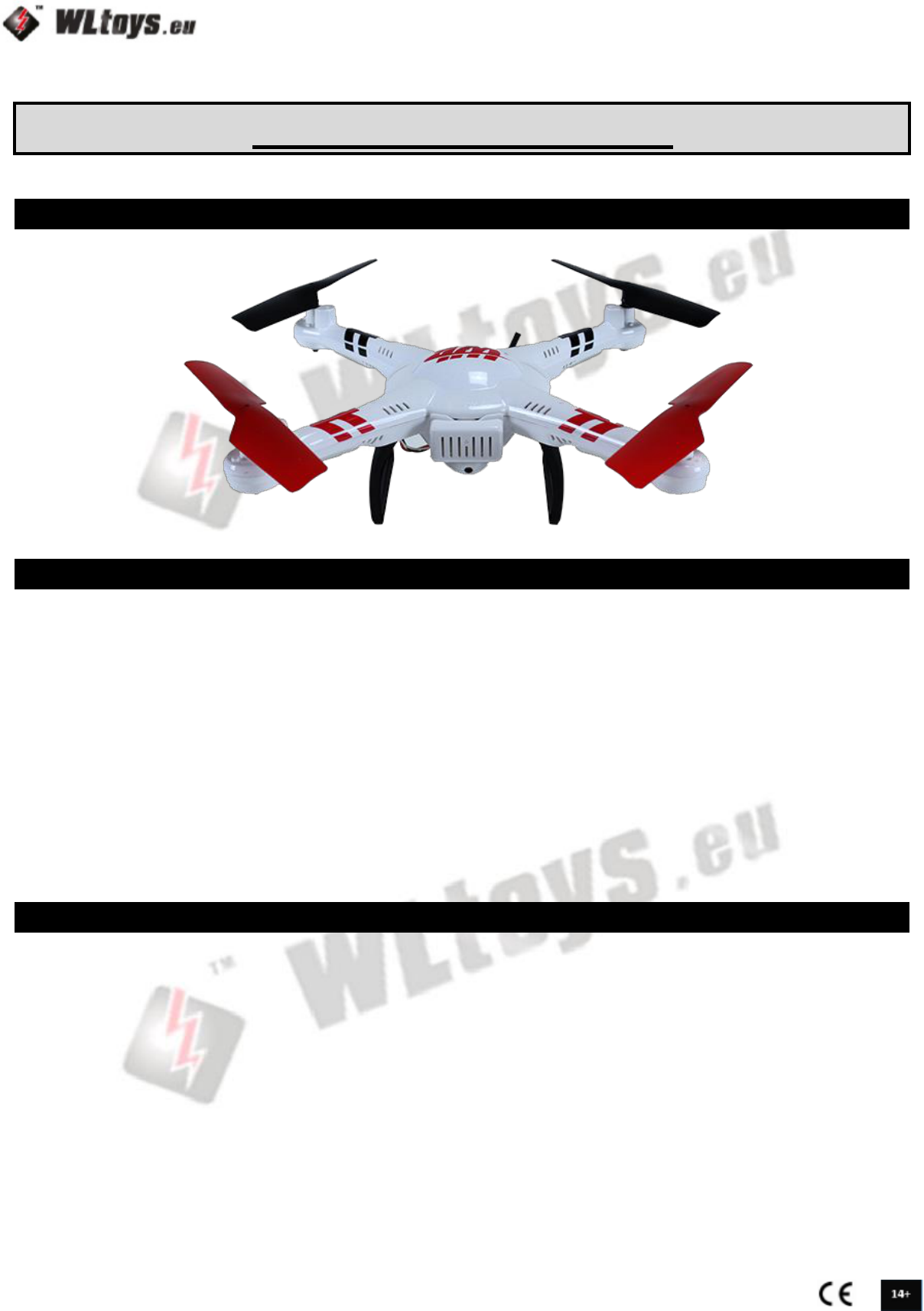 V686g Quadcopter Wiring Diagram Electrical Diagrams Quadrotor Handleiding Wltoys Explore Fpv Pagina 1 Van 10 3 Way Switches