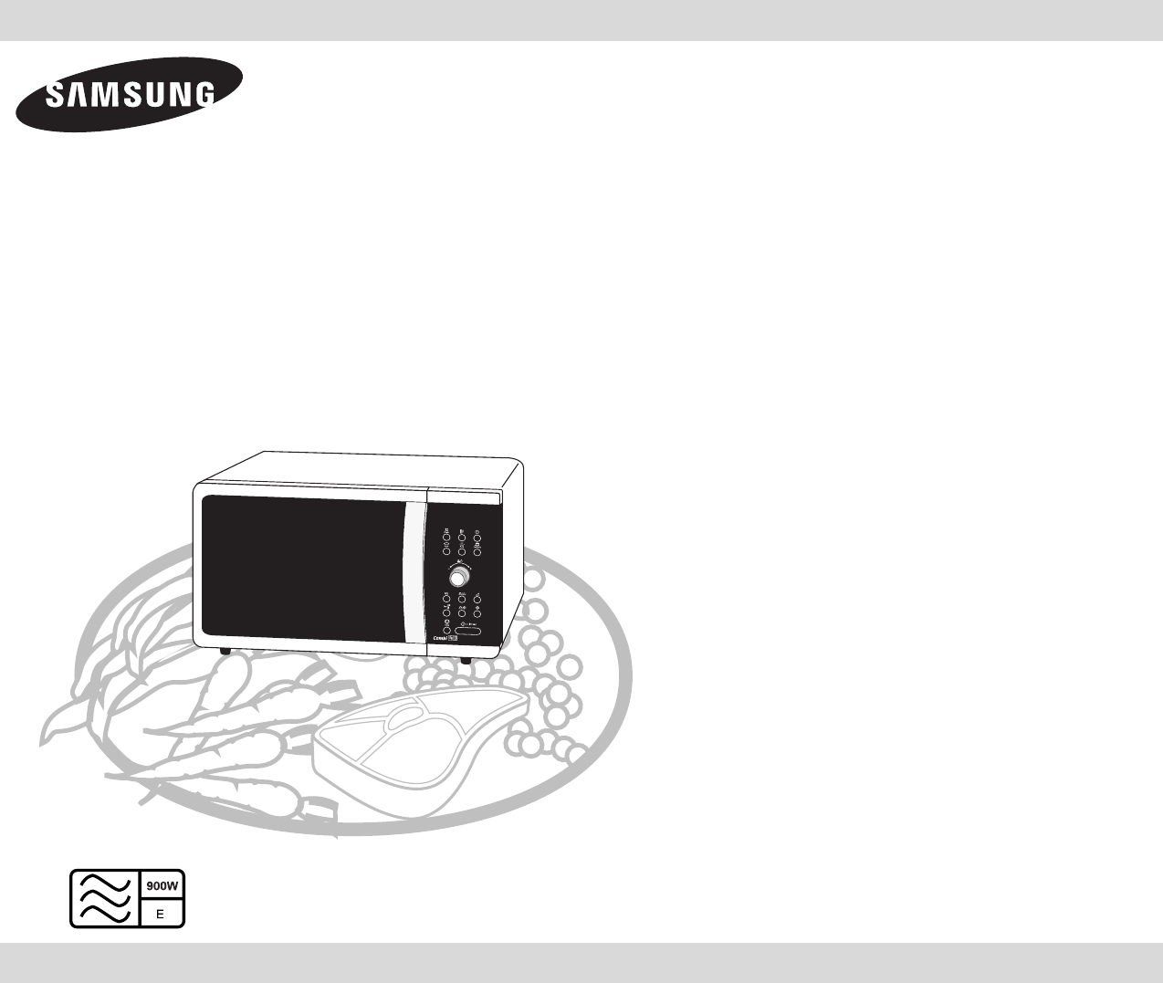 Super Handleiding Samsung CE 1000 (pagina 1 van 32) (English) JQ-87