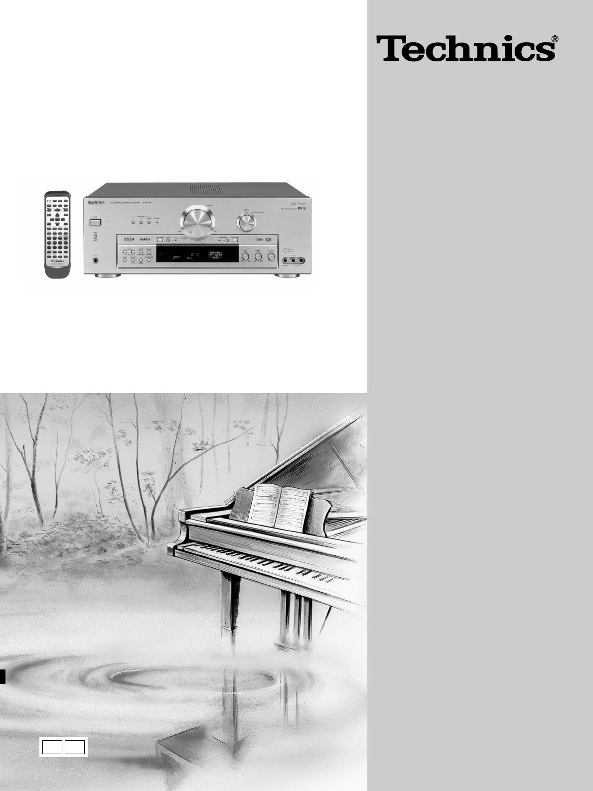 Handleiding Technics Sa Da10 Pagina 1 Van 52 English Home Stereo Wiring Diagram Av Control Receiver