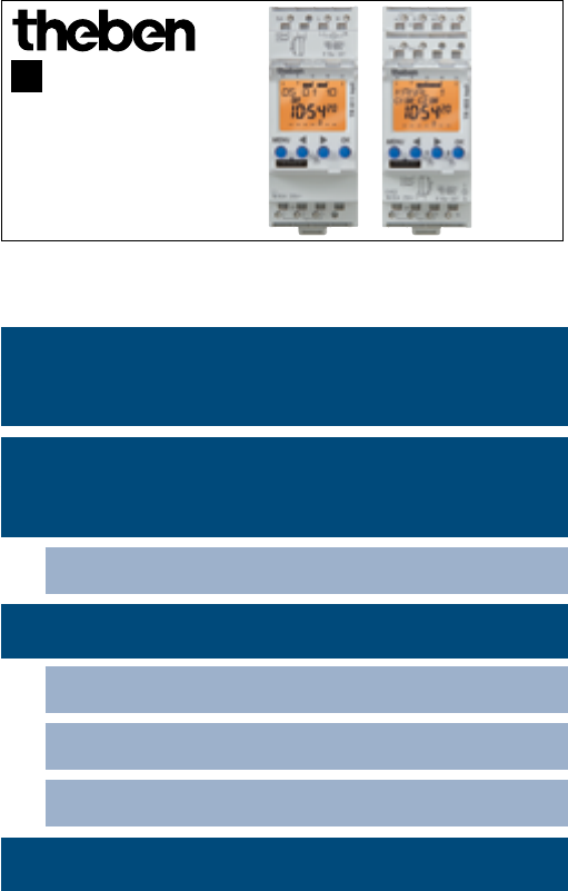 622 Best Images About Xyloto On Pinterest: Handleiding Theben Termina TR 622 Top2 (pagina 1 Van 28