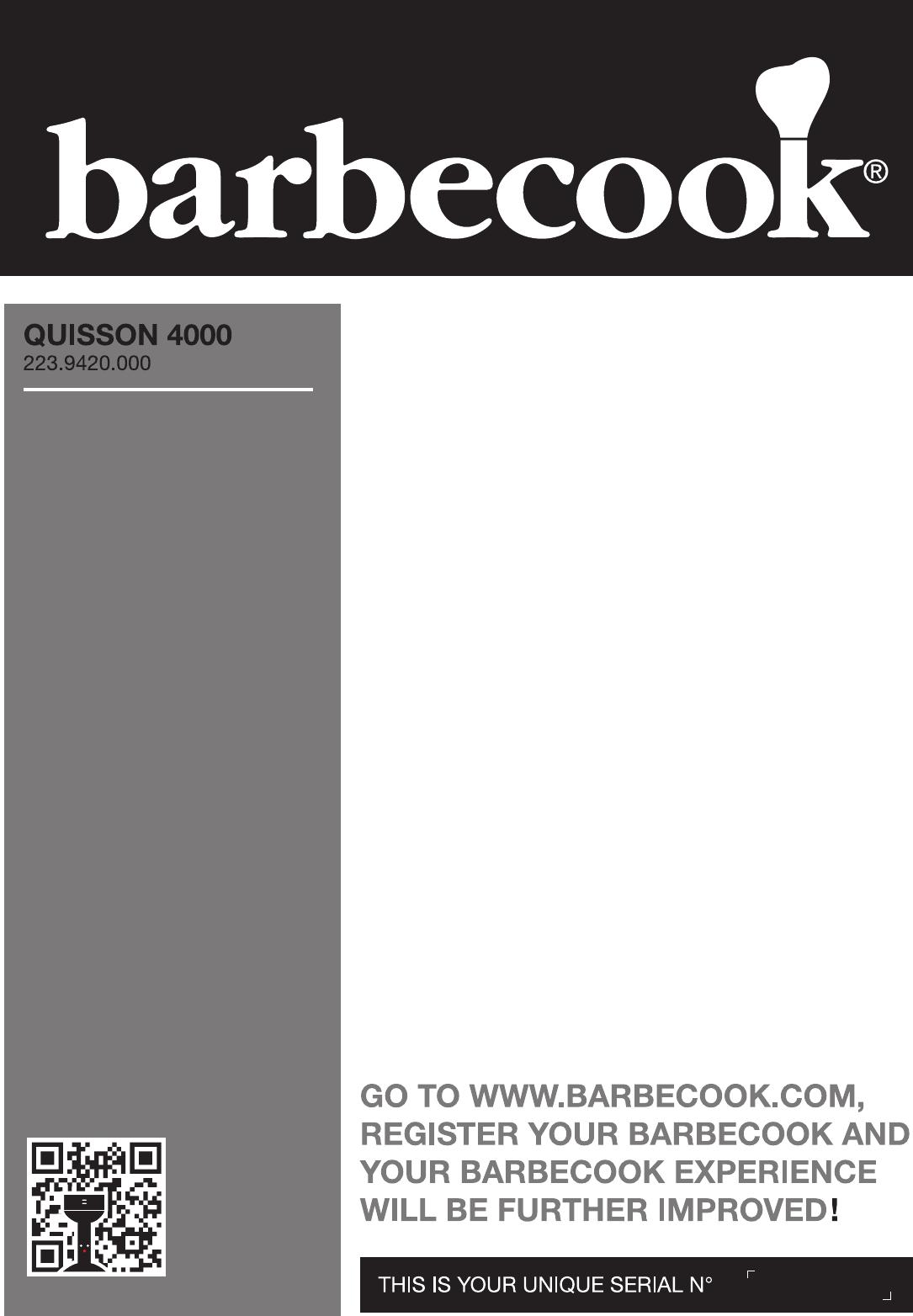 Handleiding Barbecook QUISSON 4000 (pagina 35 van 390) (Alle