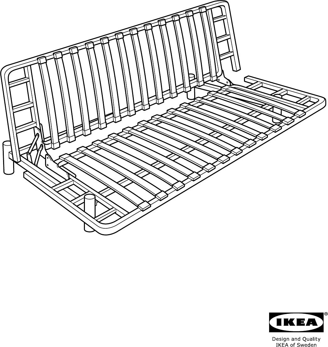 Bedbank Ikea Beddinge.Handleiding Ikea Beddinge Lovas Pagina 1 Van 8 Alle Talen