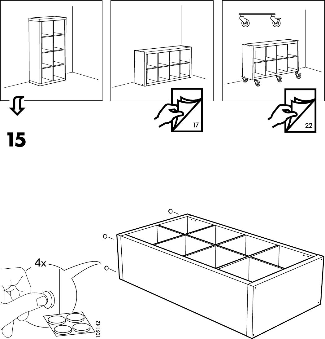 Handleiding Ikea 80275887 Kallax Open Kast Pagina 16 Van