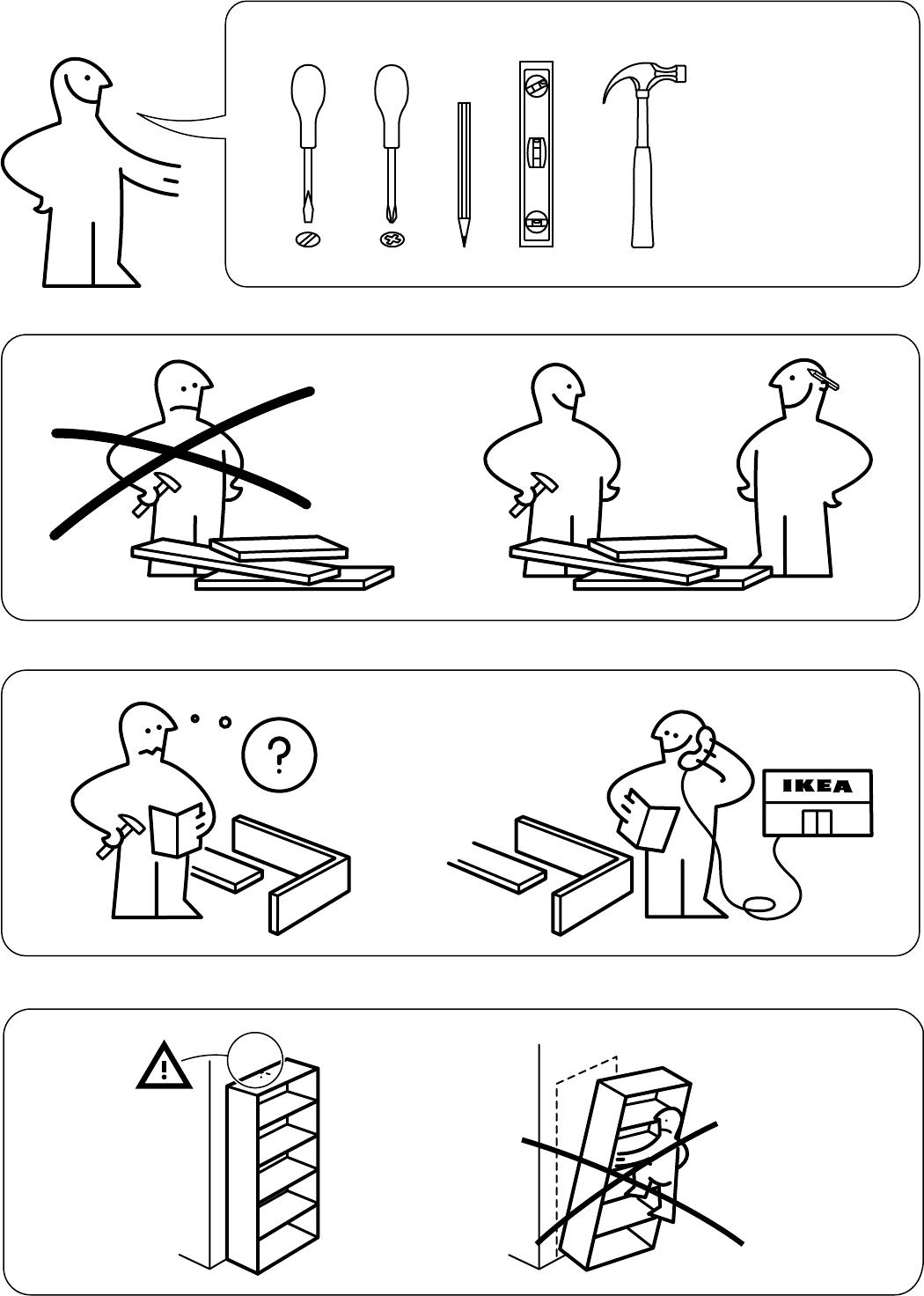 Handleiding Ikea 80275887 Kallax Open Kast Pagina 3 Van