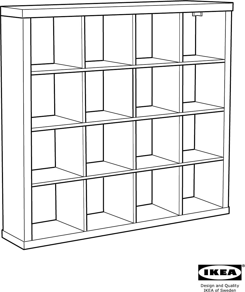 Handleiding Ikea 30275861 Kallax Open Kast Pagina 3 Van