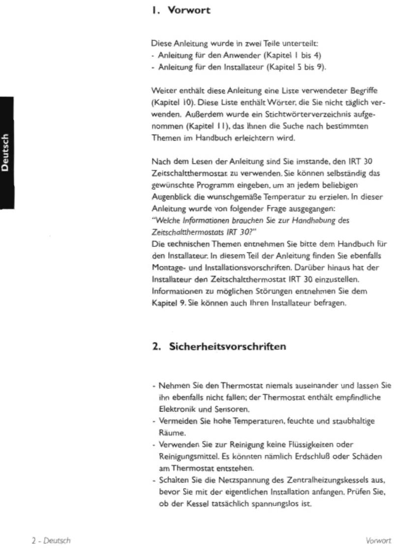 Handleiding Nefit Moduline 30 Pagina 5 Van 51 Deutsch