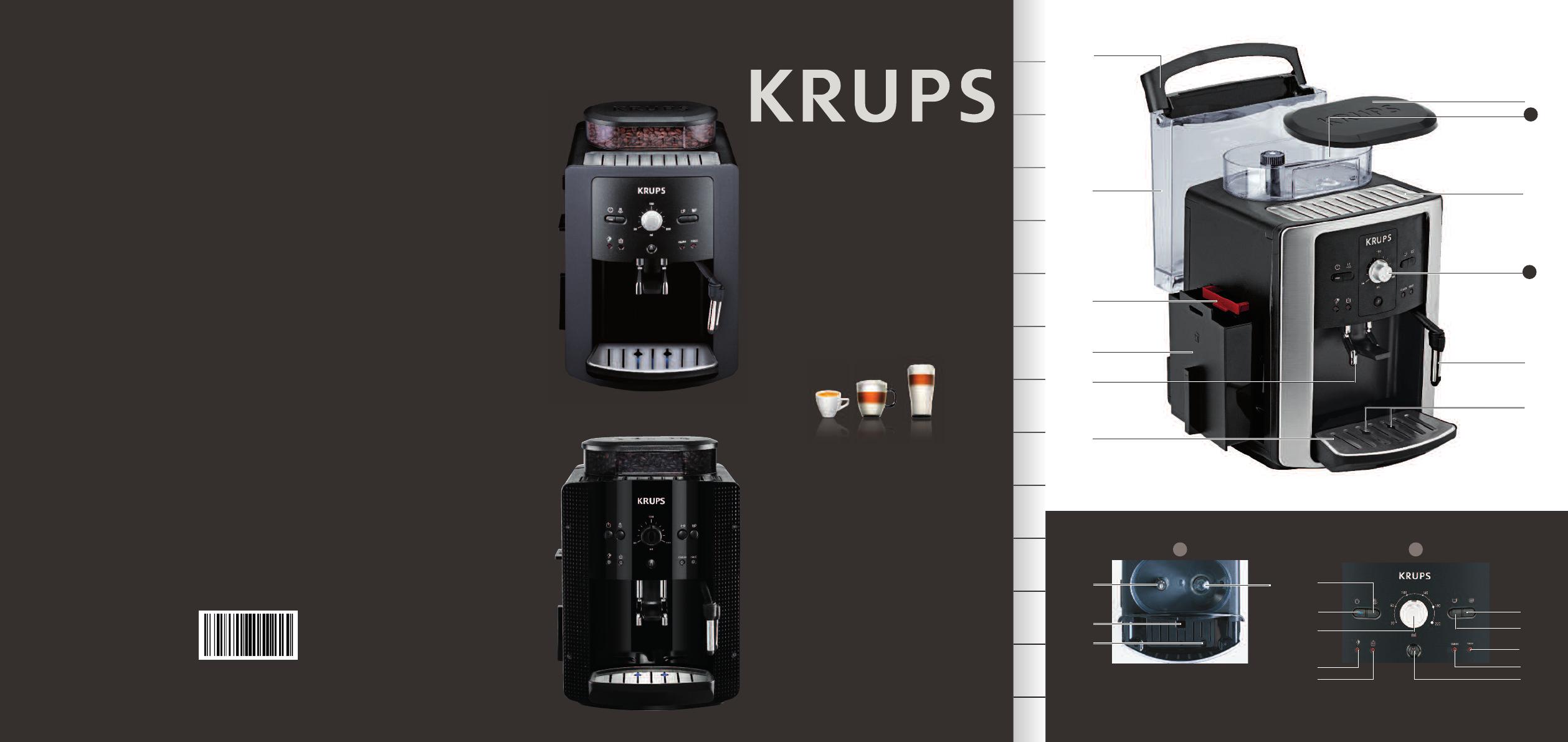 Handleiding Krups EA 8080 (pagina 1 van 16) (English)