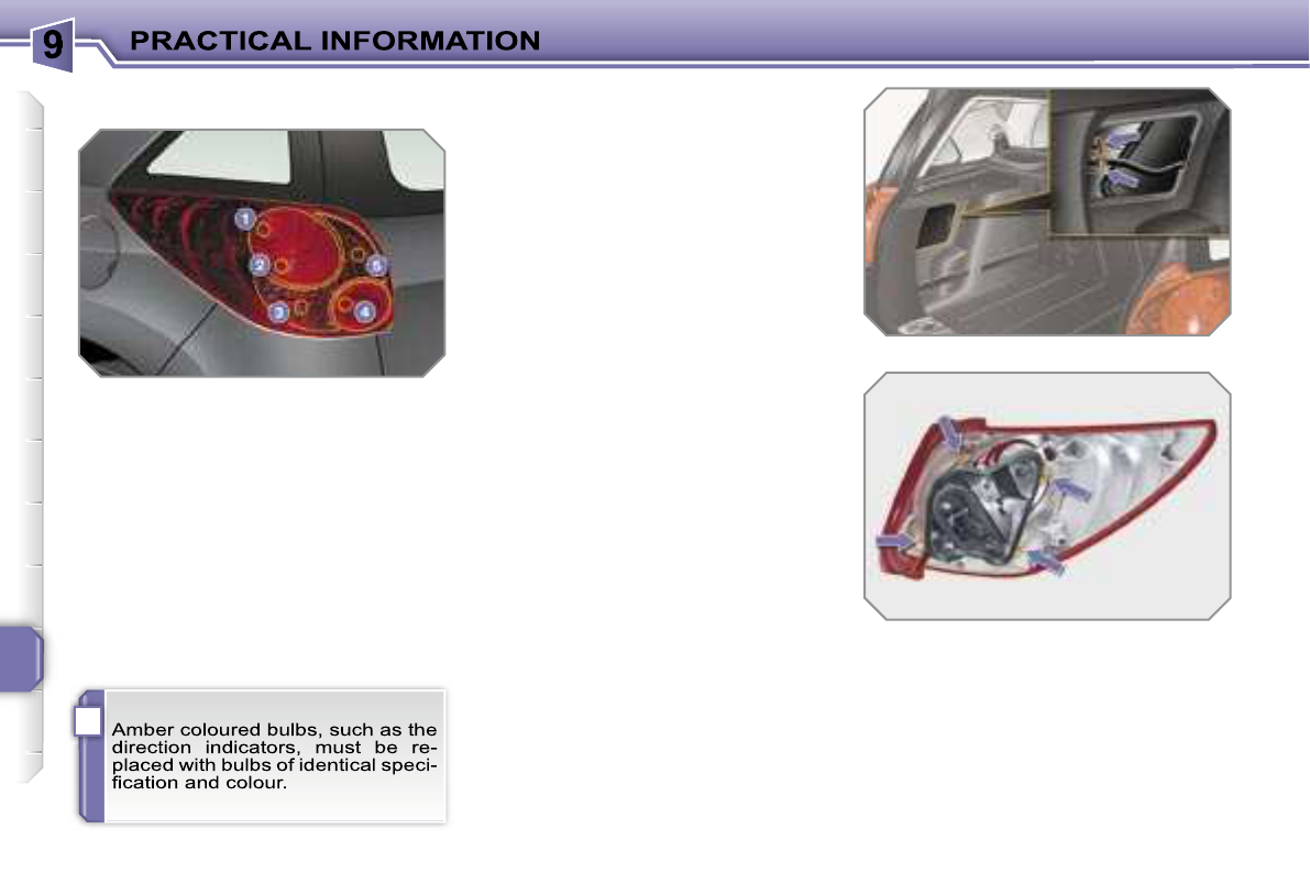 Handleiding Peugeot 207 2007 Pagina 155 Van 218 English Fuse Box Headlight I