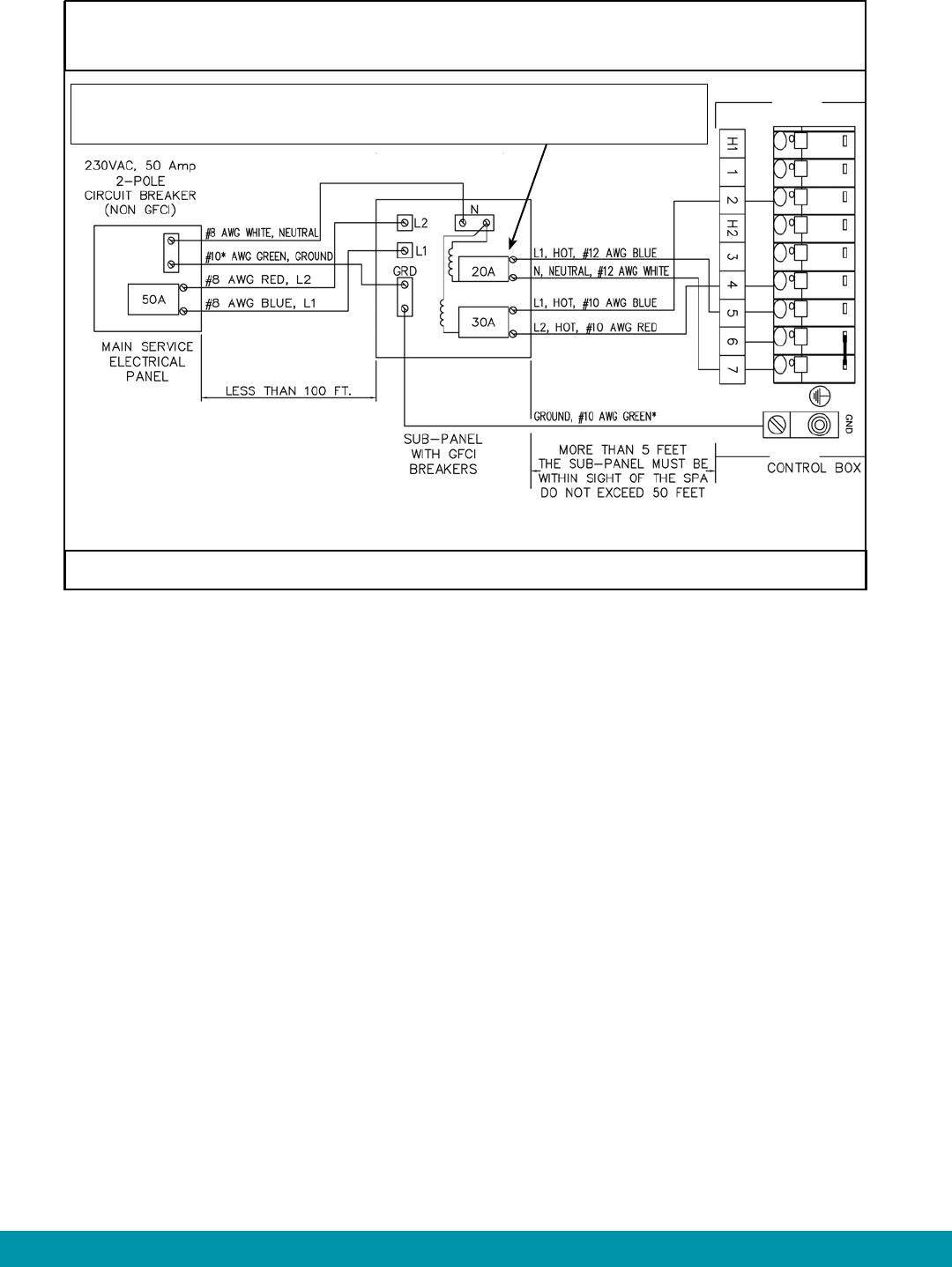 Handleiding Hot Spring Vanguard Vv Pagina 37 Van 48 English Gfci No Ground Wiring Diagram Page