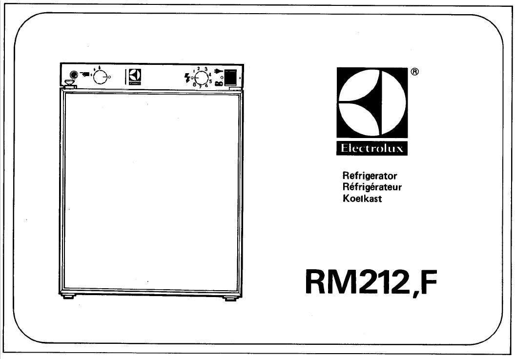 handleiding electrolux rm212 pagina 1 van 5 english rh gebruikershandleiding com