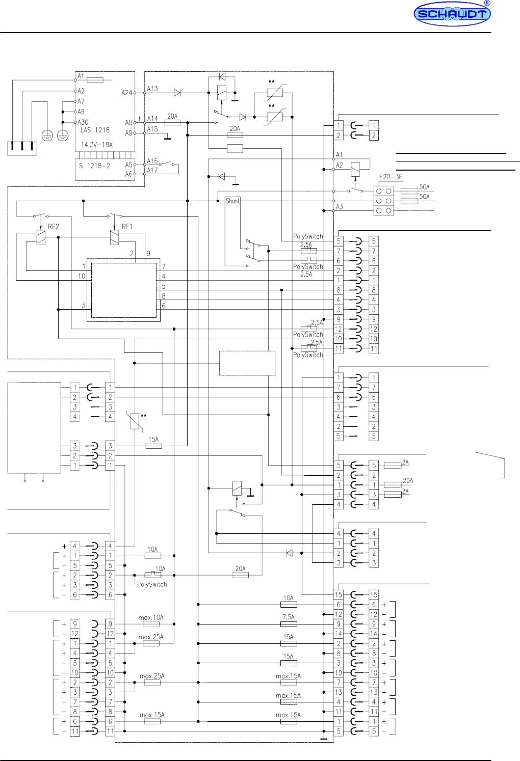 handleiding schaudt elektroblock ebl 101 c  pagina 16 van 16   english