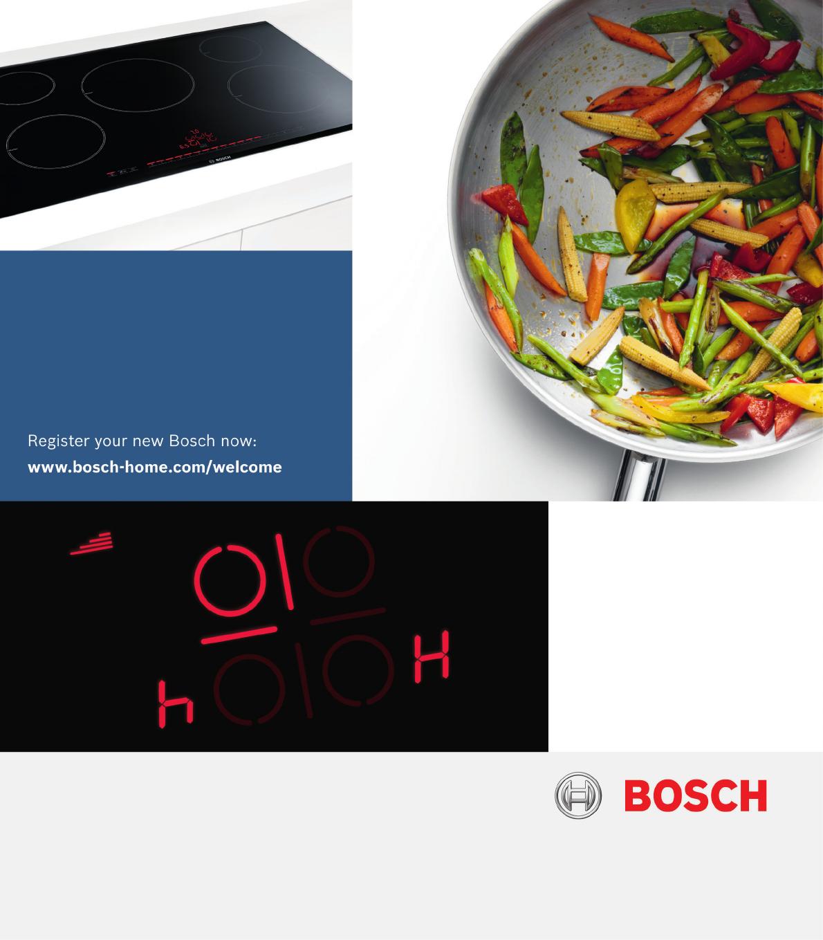 Handleiding bosch pvp775fc1e pagina 1 van 32 deutsch for Bosch inspiratiehuis