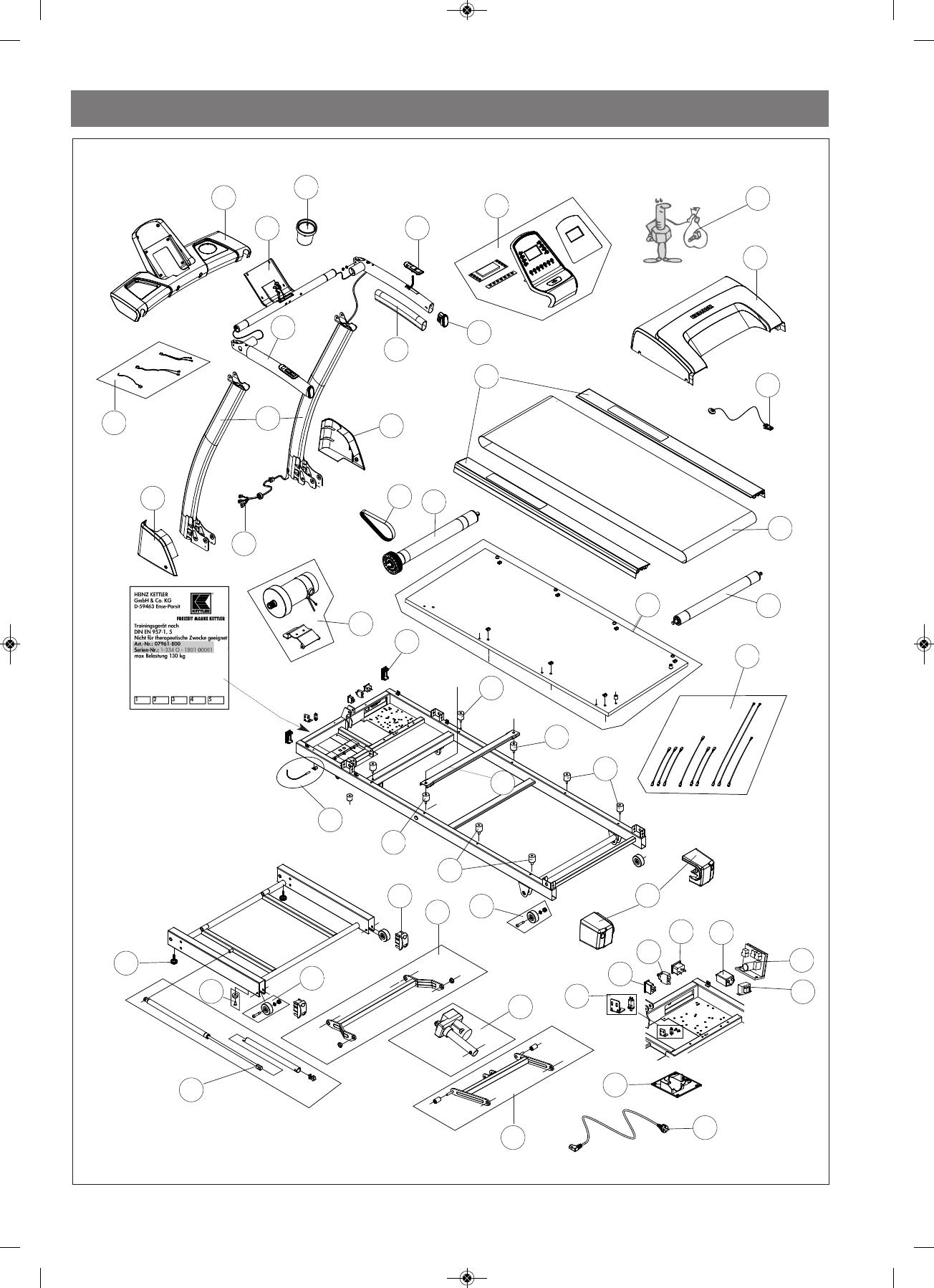 Handleiding Kettler Pacer 07888 000 Pagina 30 Van 34 Dansk