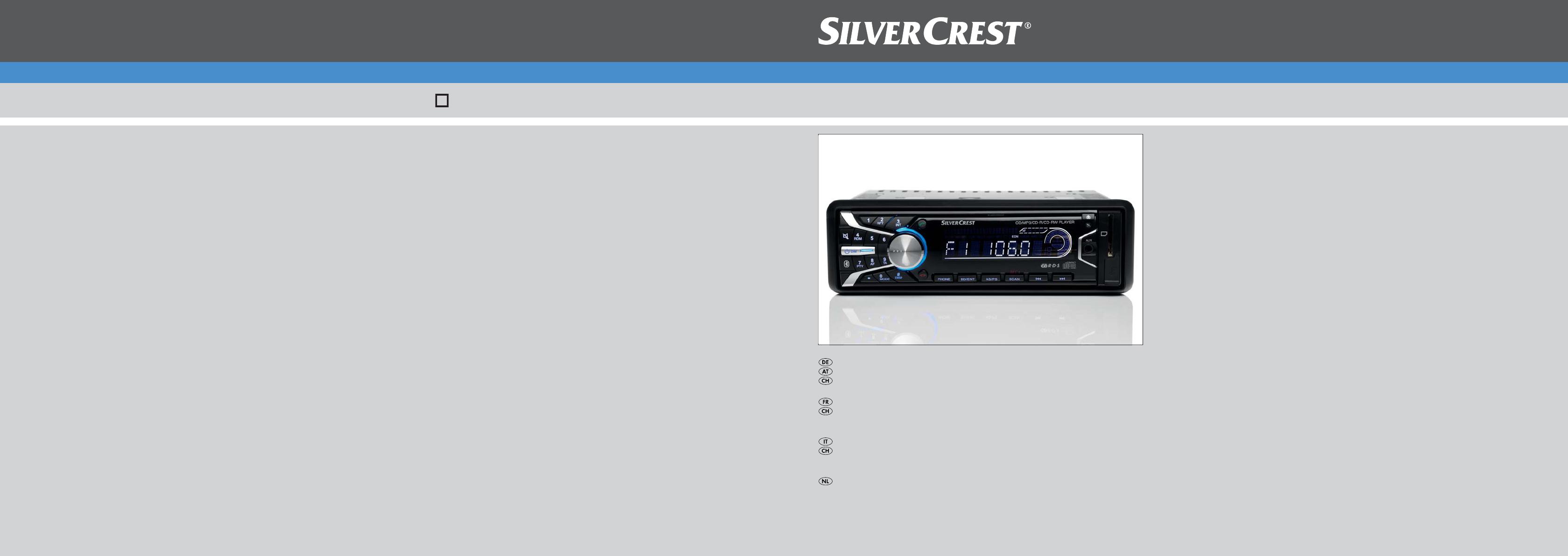 Handleiding Silvercrest SAB 160 A1 - IAN 66837 (pagina 1 van 162 ...