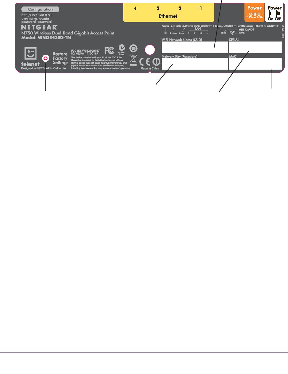 Handleiding Telenet WNDR4300-TN Access Point (pagina 6 van