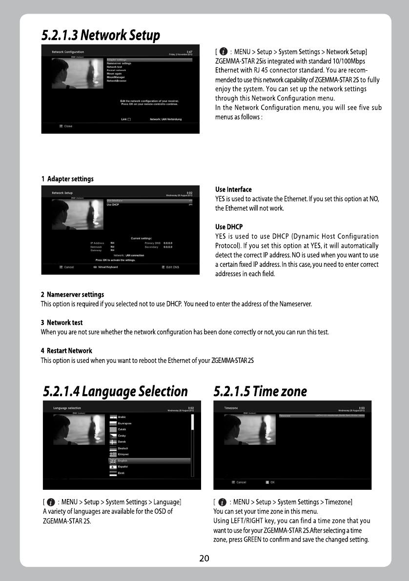Handleiding Zgemma Star 2S (pagina 1 van 32) (English)