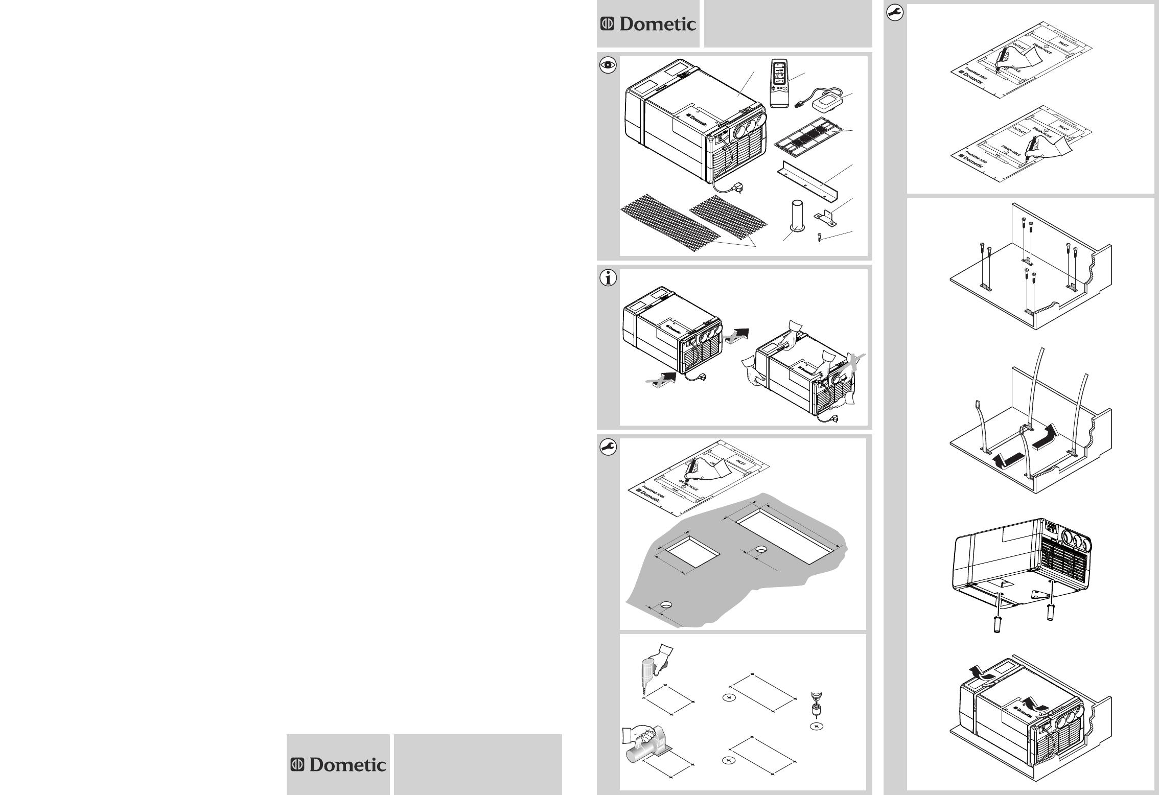 Handleiding Dometic FreshWell 3000 (pagina 1 van 262) (Alle talen) 937b1e53ece3