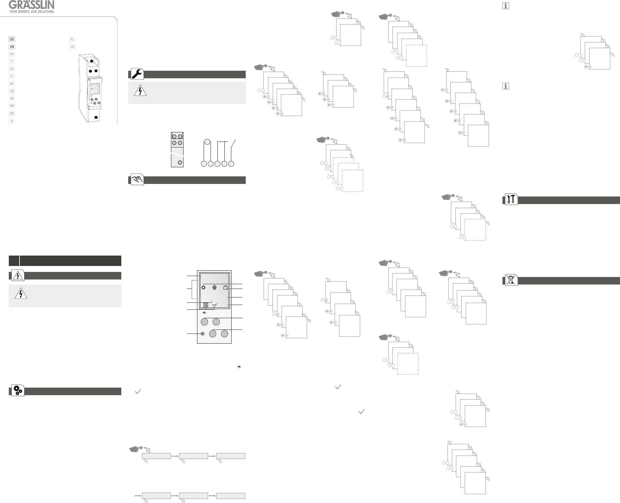 grasslin talento 371 mini user manual