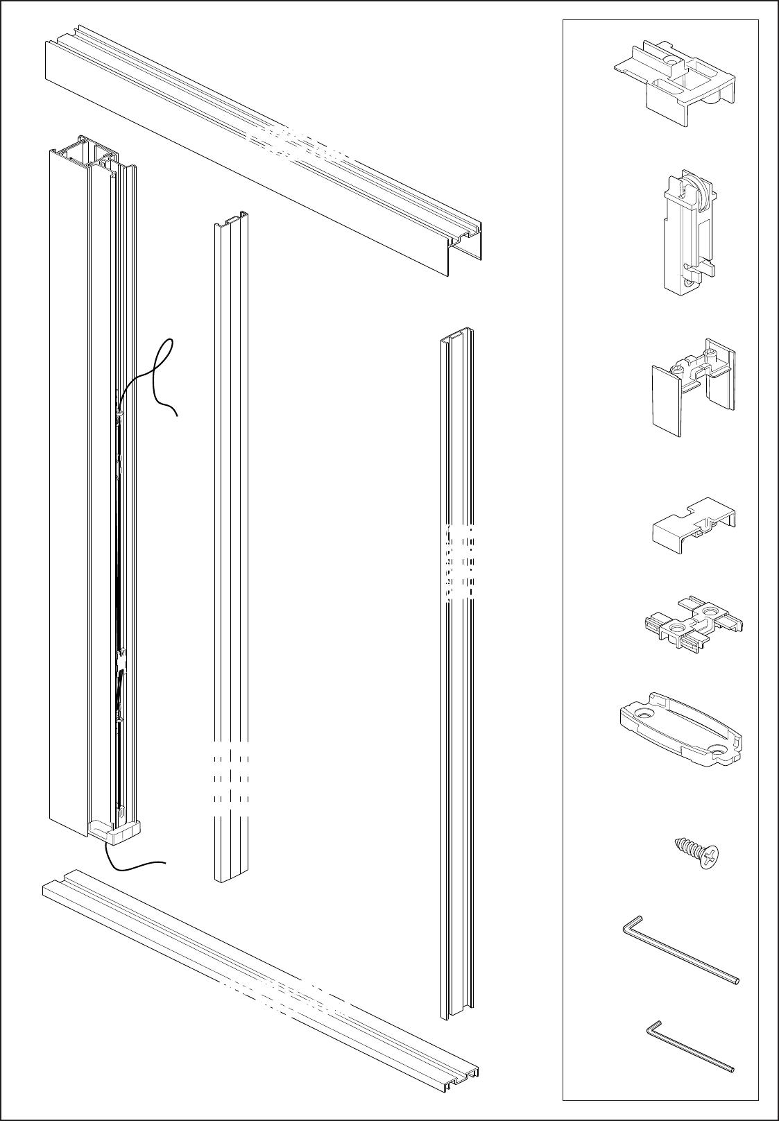 Top Handleiding Bruynzeel 634576 S700 Plisse Hordeur (pagina 3 van 12 QG12