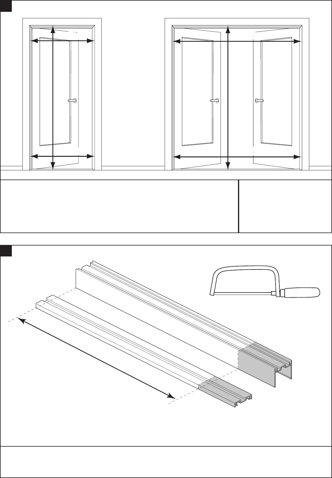 Bekend Handleiding Bruynzeel 634576 S700 Plisse Hordeur (pagina 1 van 12 SG87