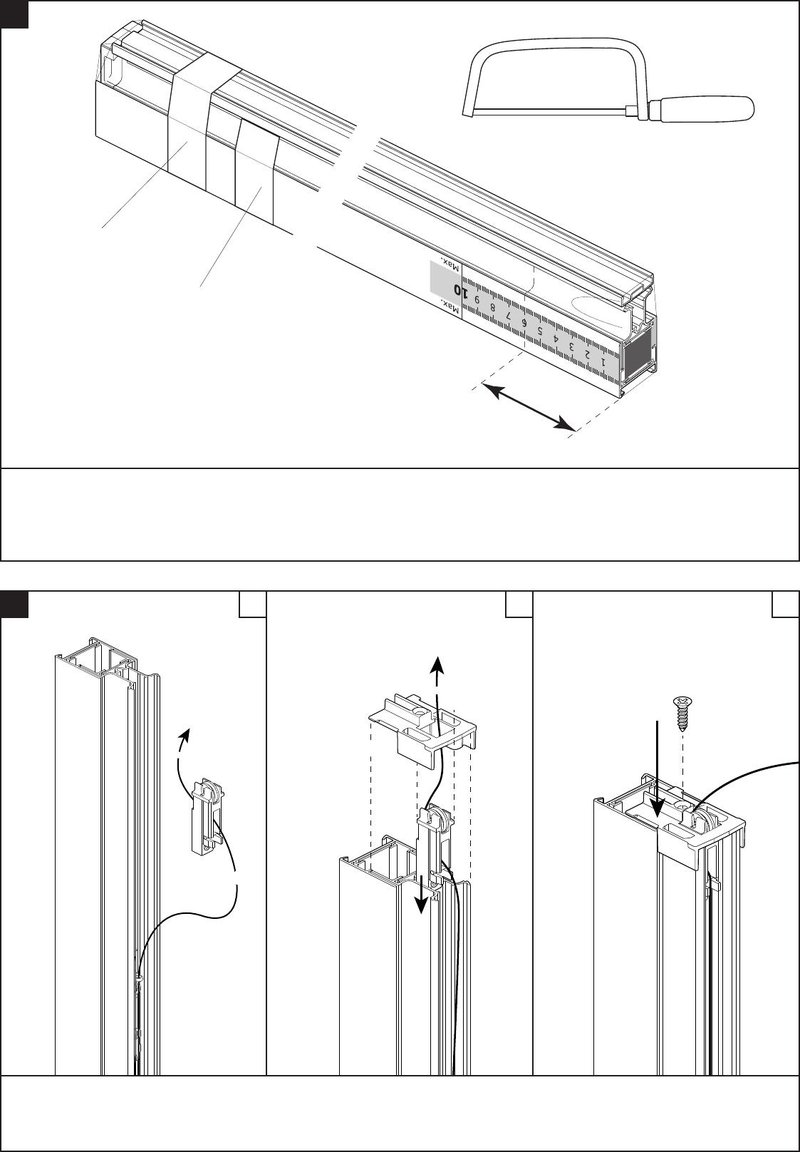 Genoeg Handleiding Bruynzeel 634576 S700 Plisse Hordeur (pagina 5 van 12 PN63