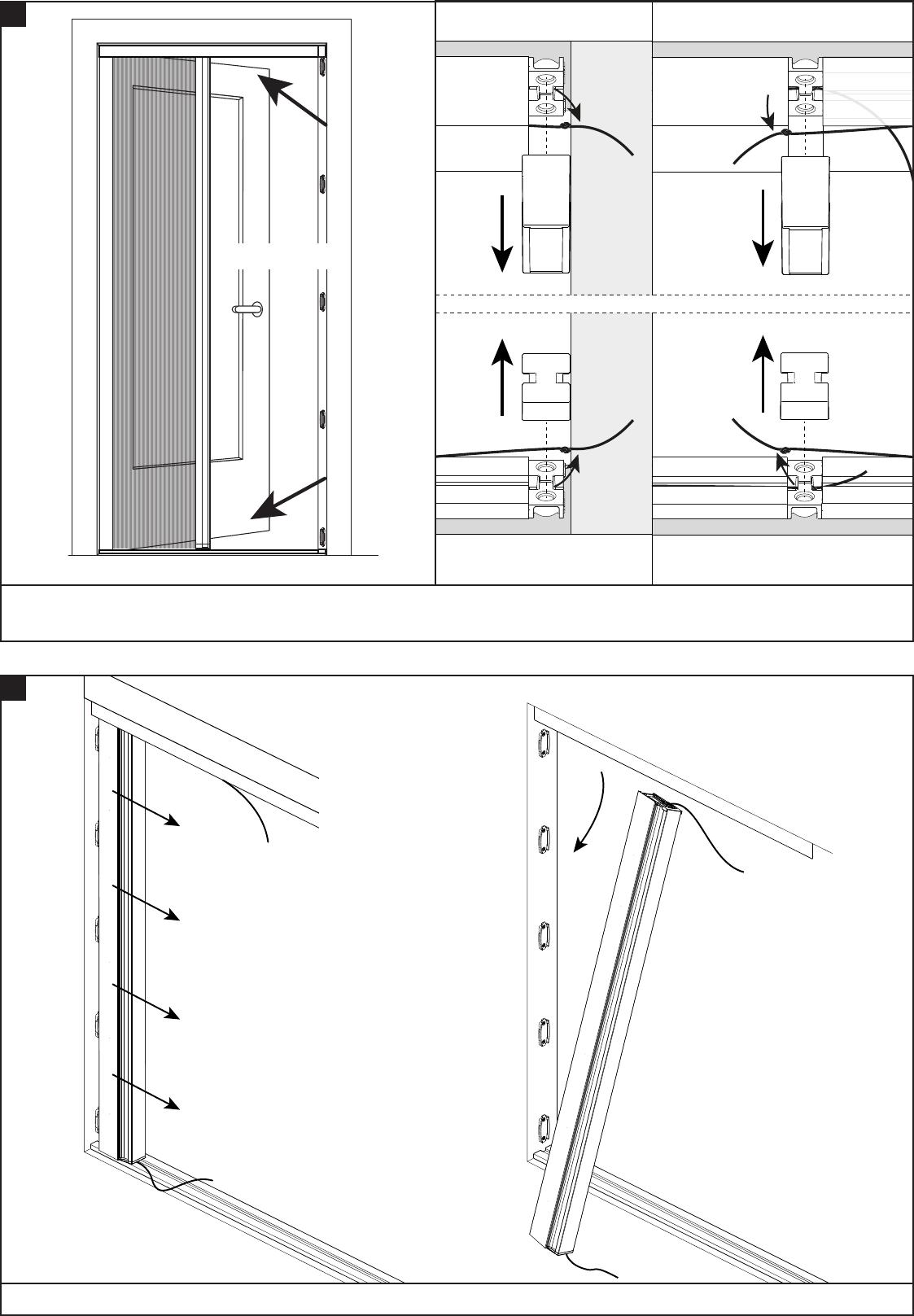 Fabulous Handleiding Bruynzeel 634587 S700 Plisse Hordeur (pagina 1 van 12 PU73