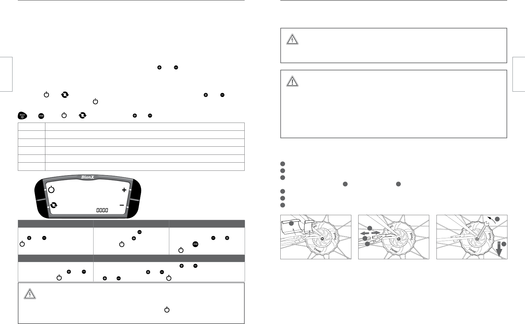 Handleiding BionX P-series (pagina 13 van 18) (Deutsch)