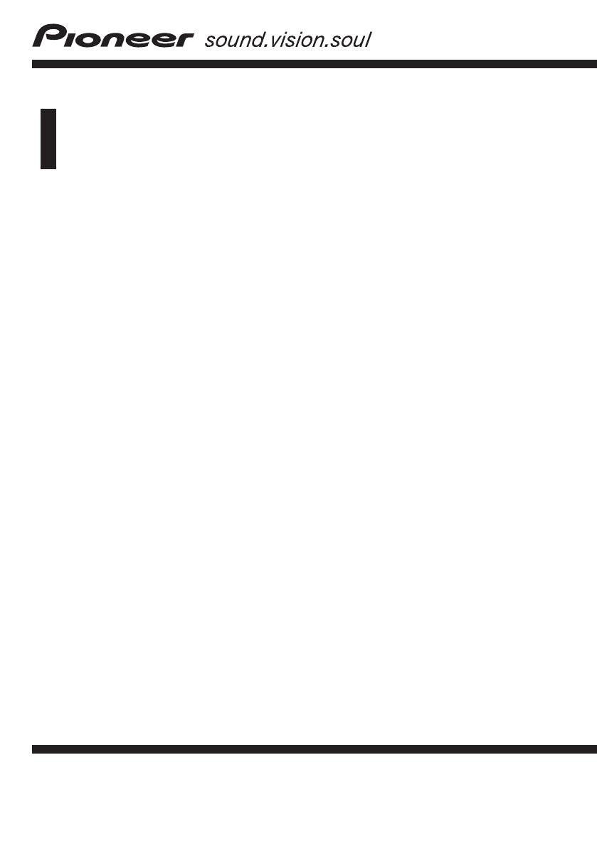 Handleiding Pioneer AVIC-HD3 II (pagina 1 van 189) (English)