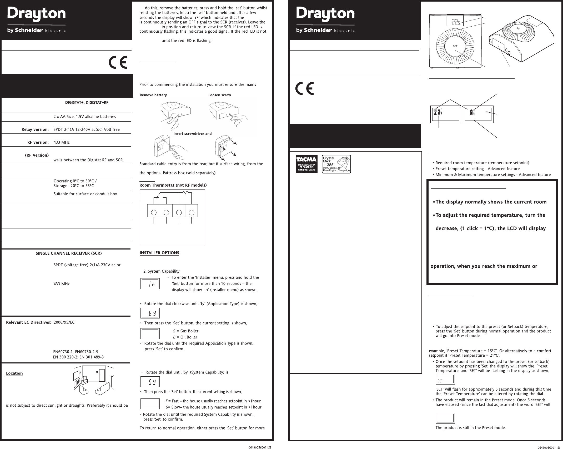 Phenomenal Handleiding Drayton Digistat Plus 30002 Rf601 Pagina 2 Van 2 Wiring Cloud Hisonuggs Outletorg