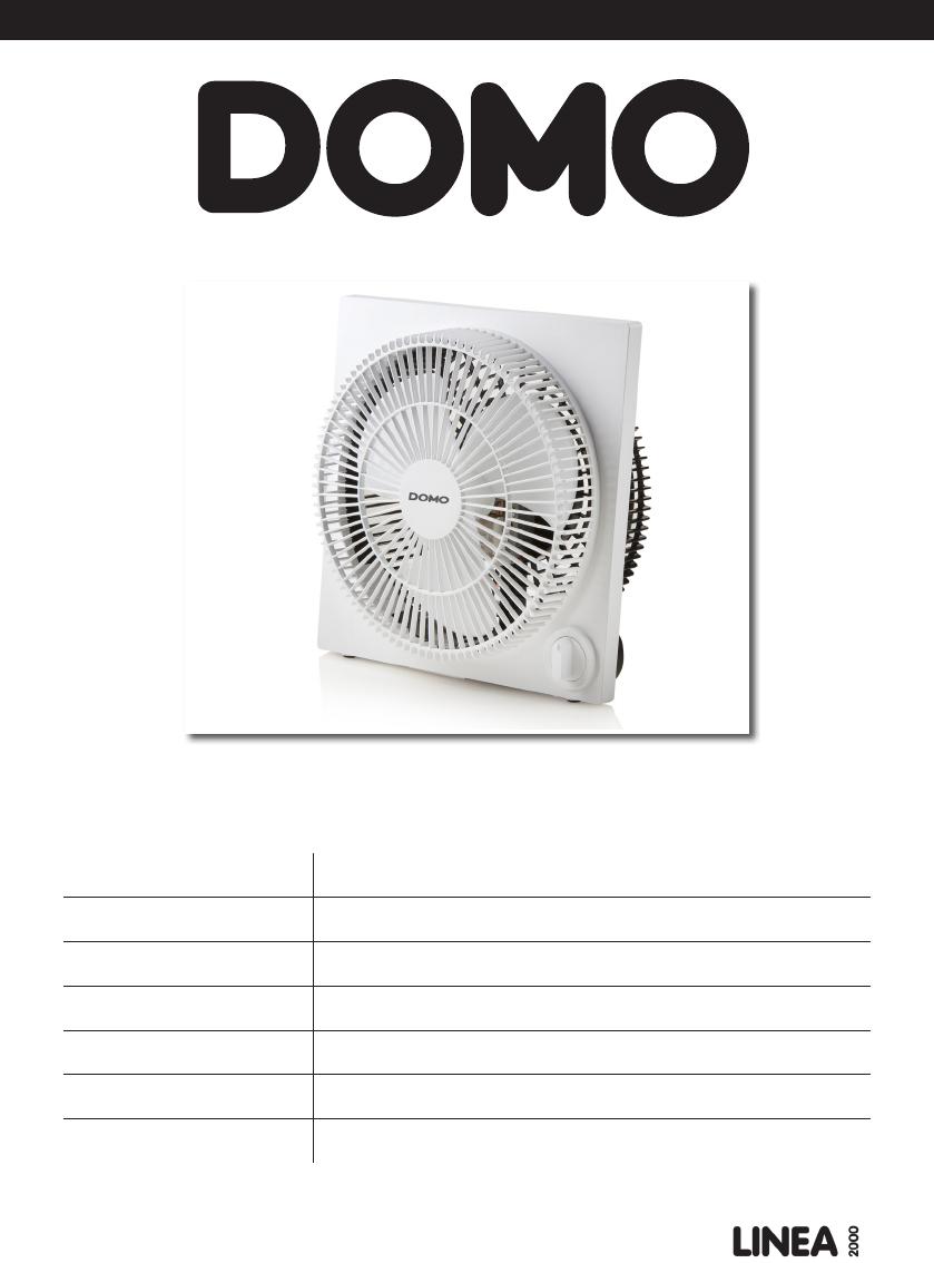 Domo DO8142 vloerventilator