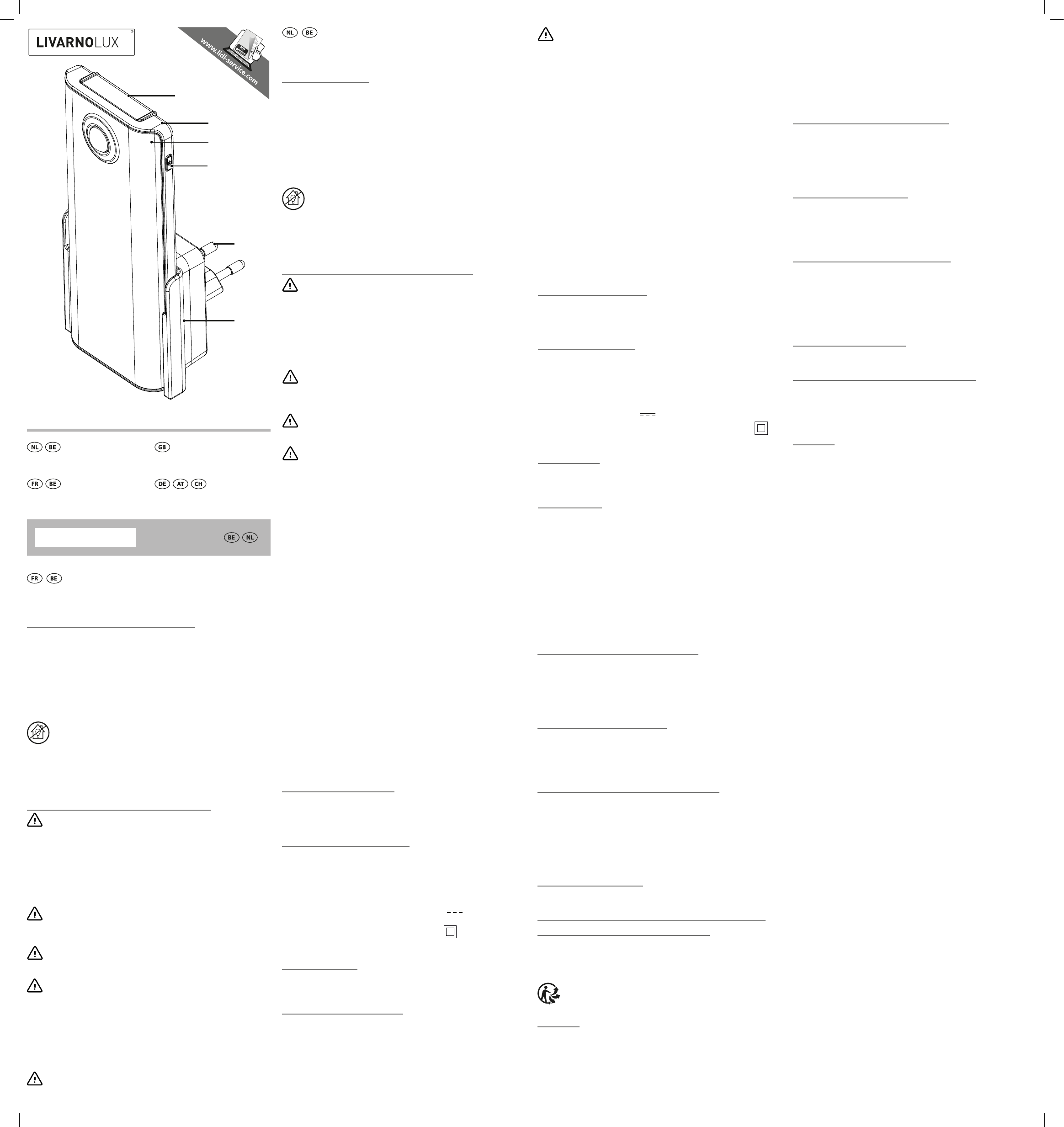 Livarnolux Handleiding 1pagina 2 Ian 2deutsch 278006 Van n0m8vNwO