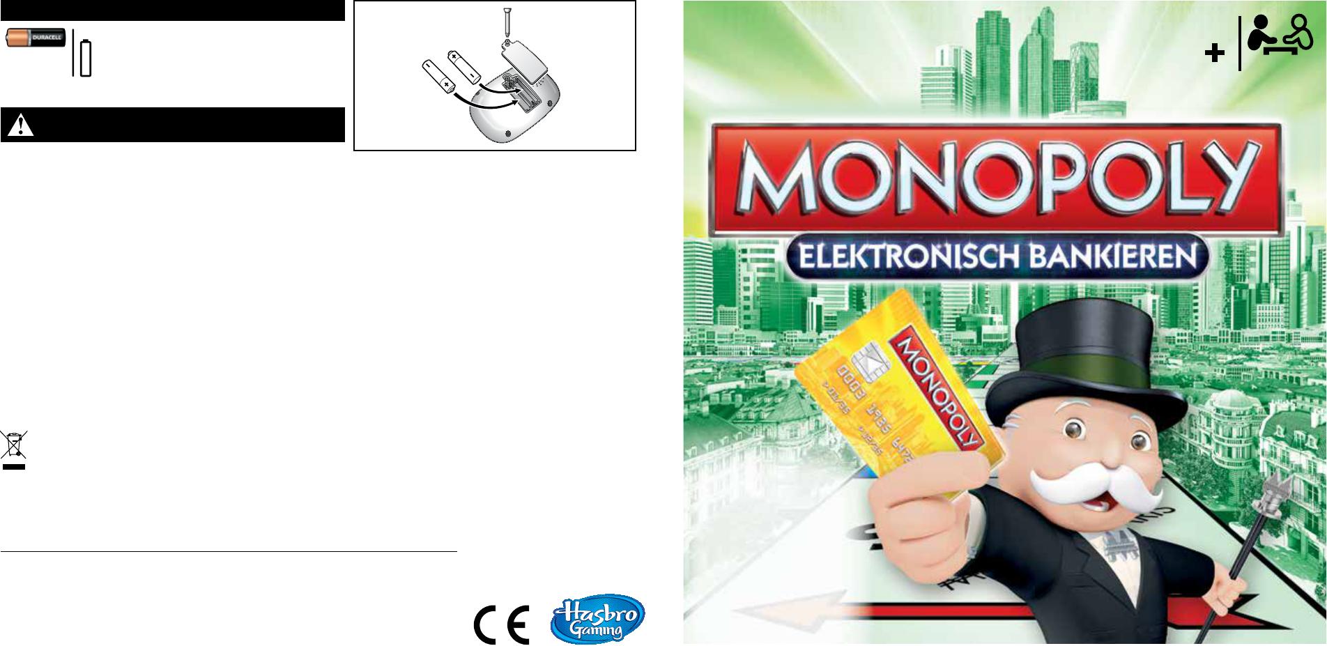 Kartenleser defekt banking monopoly Starten /