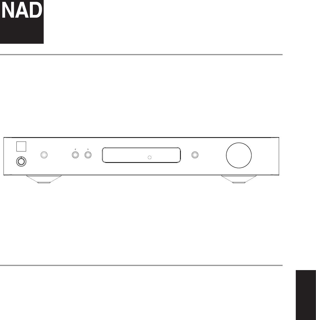 Handleiding NAD C 338 Hybrid Digital Integrated Amplifier
