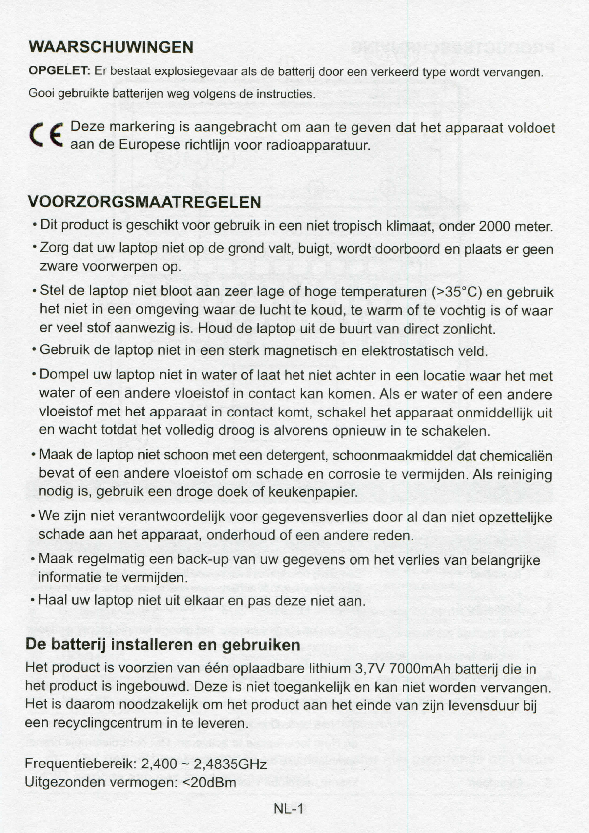 Handleiding i t Works GTN 1401 (pagina 1 van 12) (Nederlands)