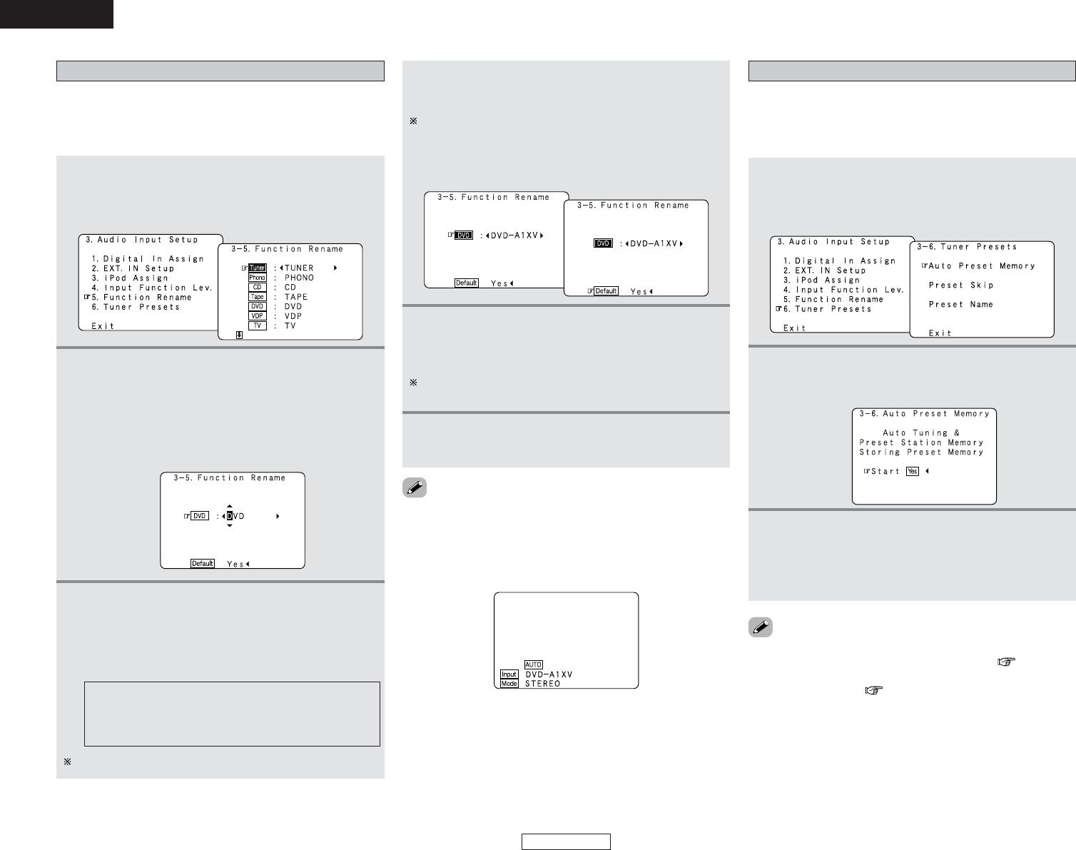 Handleiding Denon AVR-4306 (pagina 73 van 146) (English)