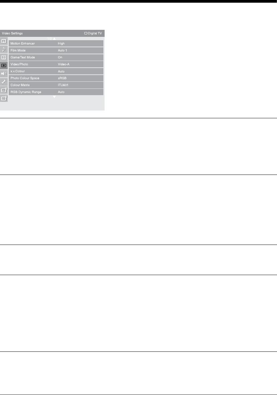 Handleiding Sony bravia kdl-40x3500 (pagina 34 van 52) (English)