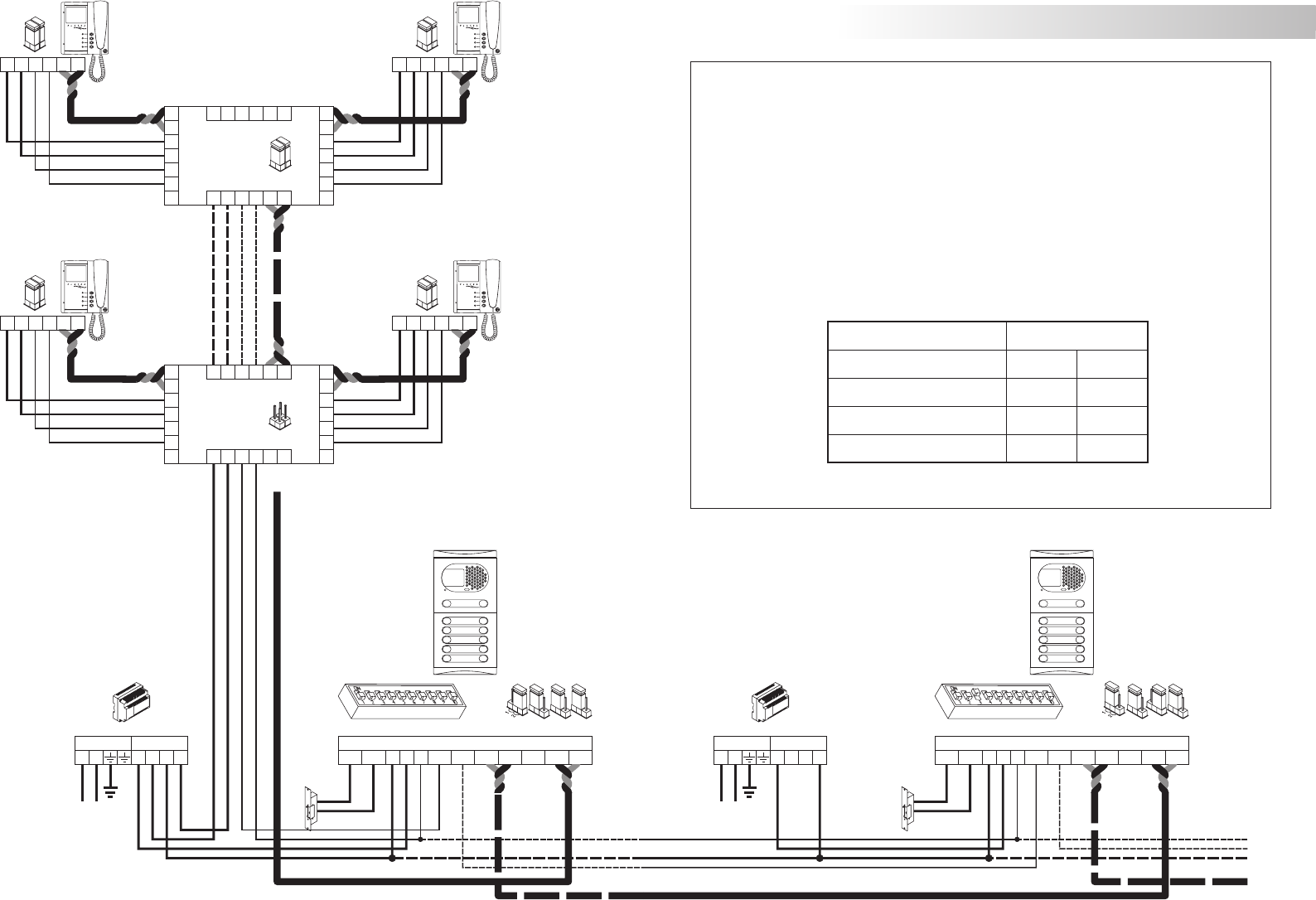 bgf handleiding golmar plateau plus (pagina 15 van 18) (english) golmar intercom wiring diagram at gsmportal.co