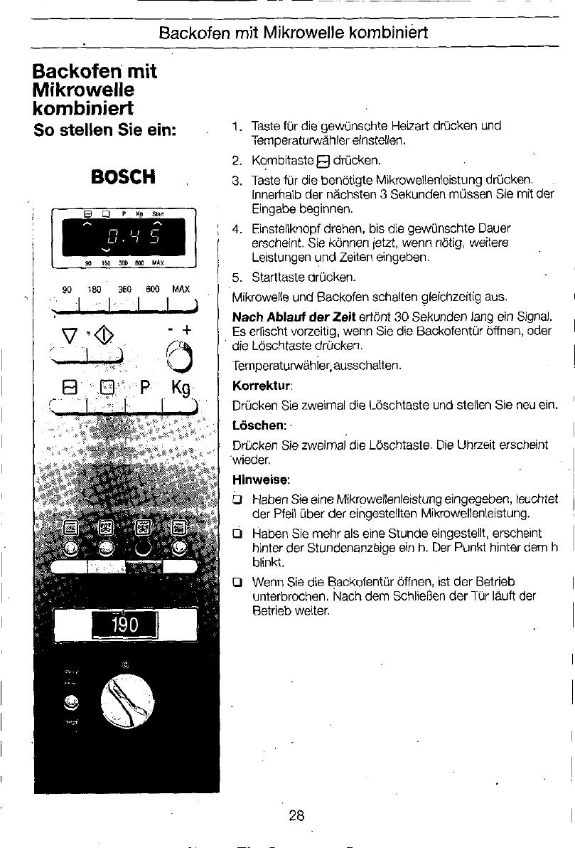 Welp Handleiding Bosch HME 8560 (pagina 28 van 252) (Deutsch, English NA-52