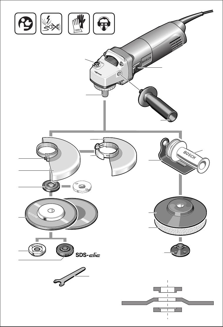 esmerilhadeira bosch gws 7-115 manual