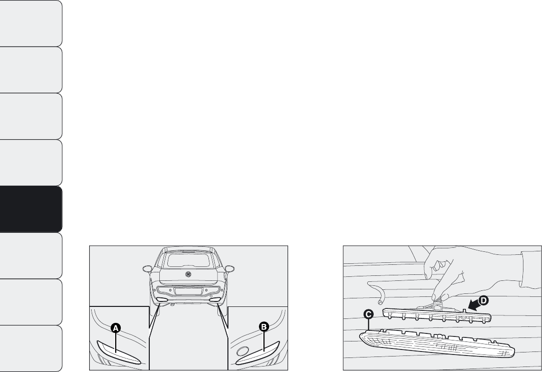 Handleiding Fiat Punto Evo (pagina 195 van 274) (Nederlands)