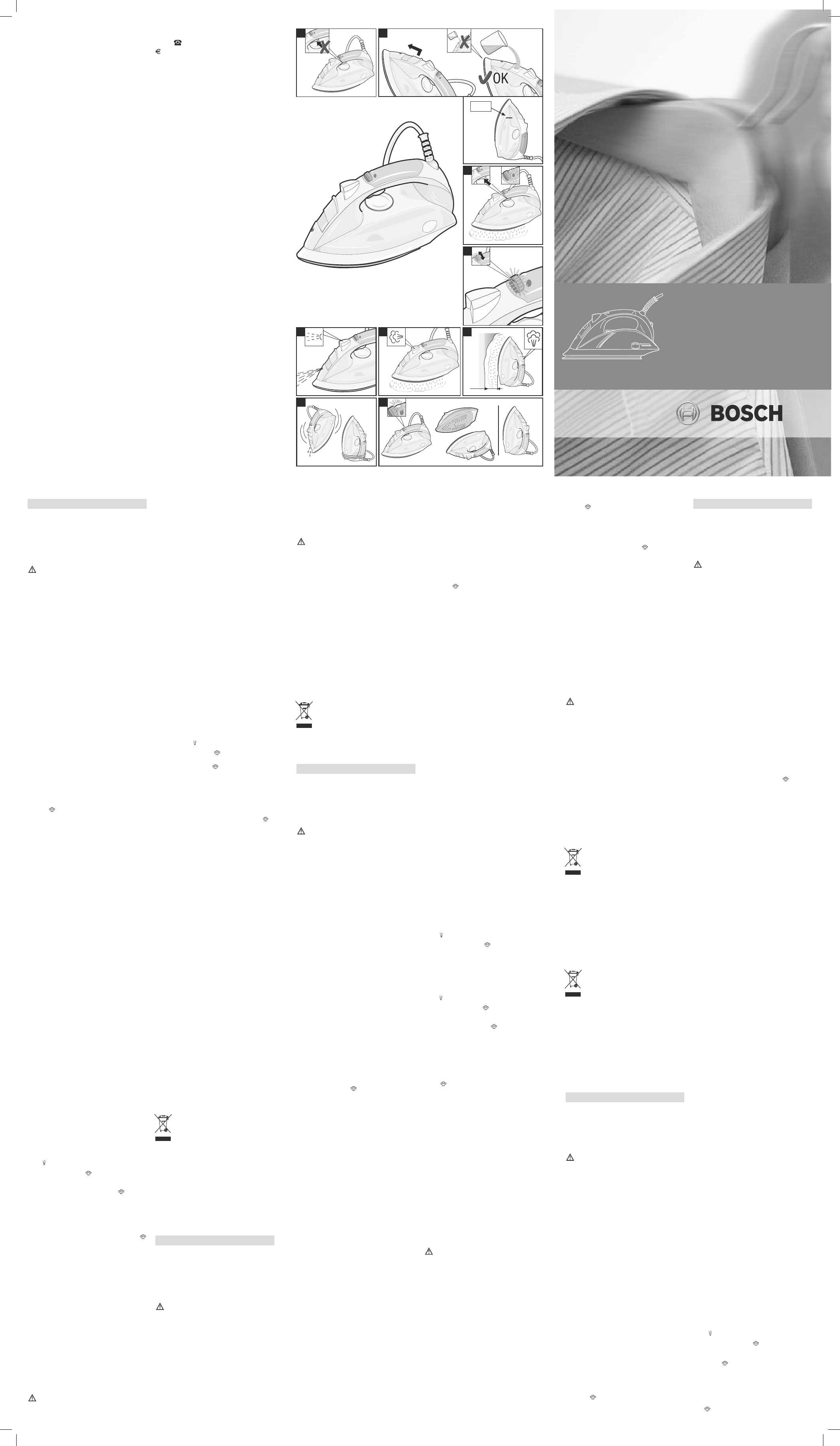 Handleiding Bosch Tds 1015 Pagina 1 Van 2 Deutsch English