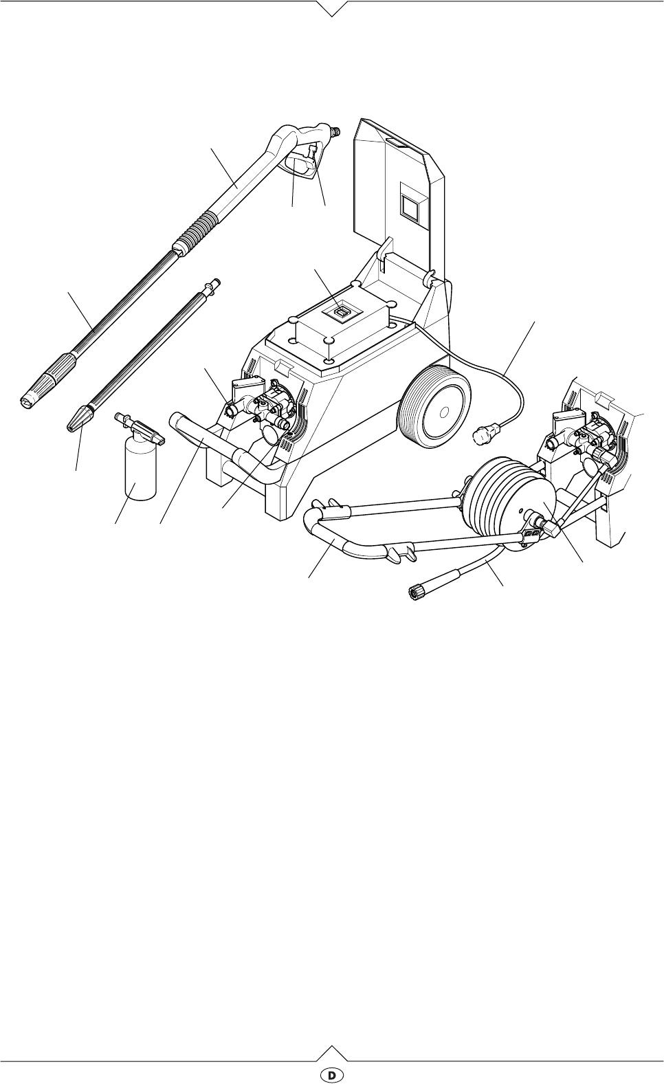 Bevorzugt Handleiding Elektra Beckum HD 135-500 (pagina 3 van 48) (Dansk TT53