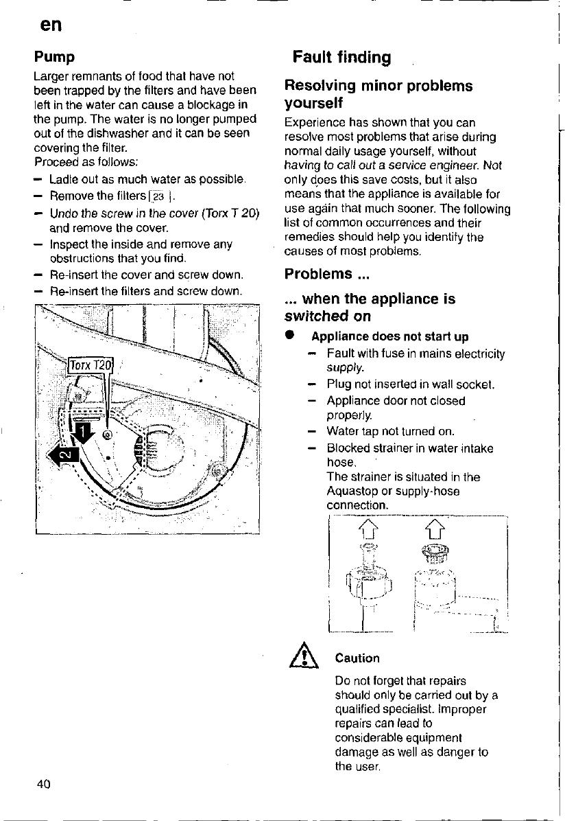 Fabulous Handleiding Bosch SGS4642eu (pagina 40 van 97) (Deutsch, English LF97
