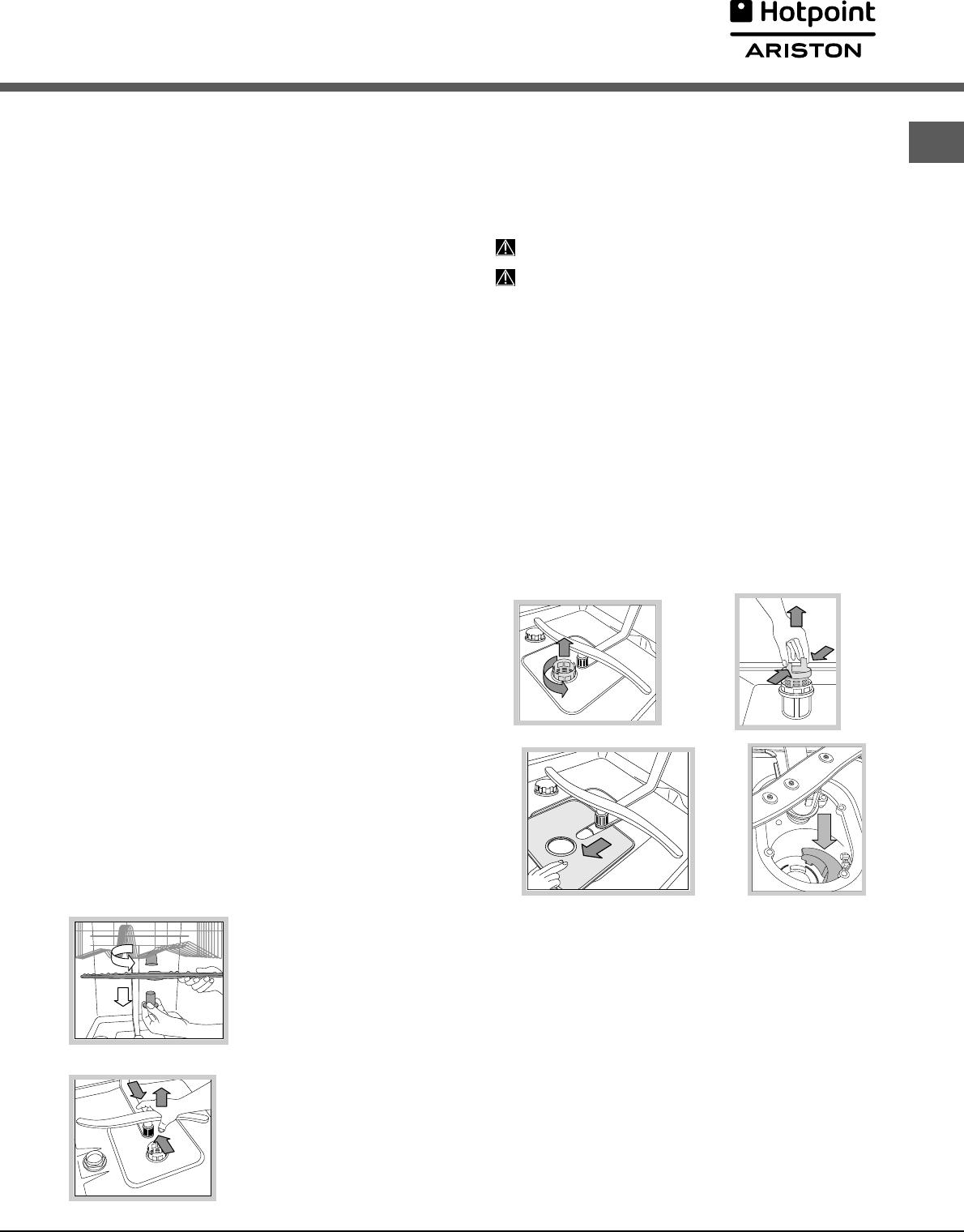 Handleiding Hotpoint-Ariston LFT 114 (pagina 45 van 84) (Deutsch ...