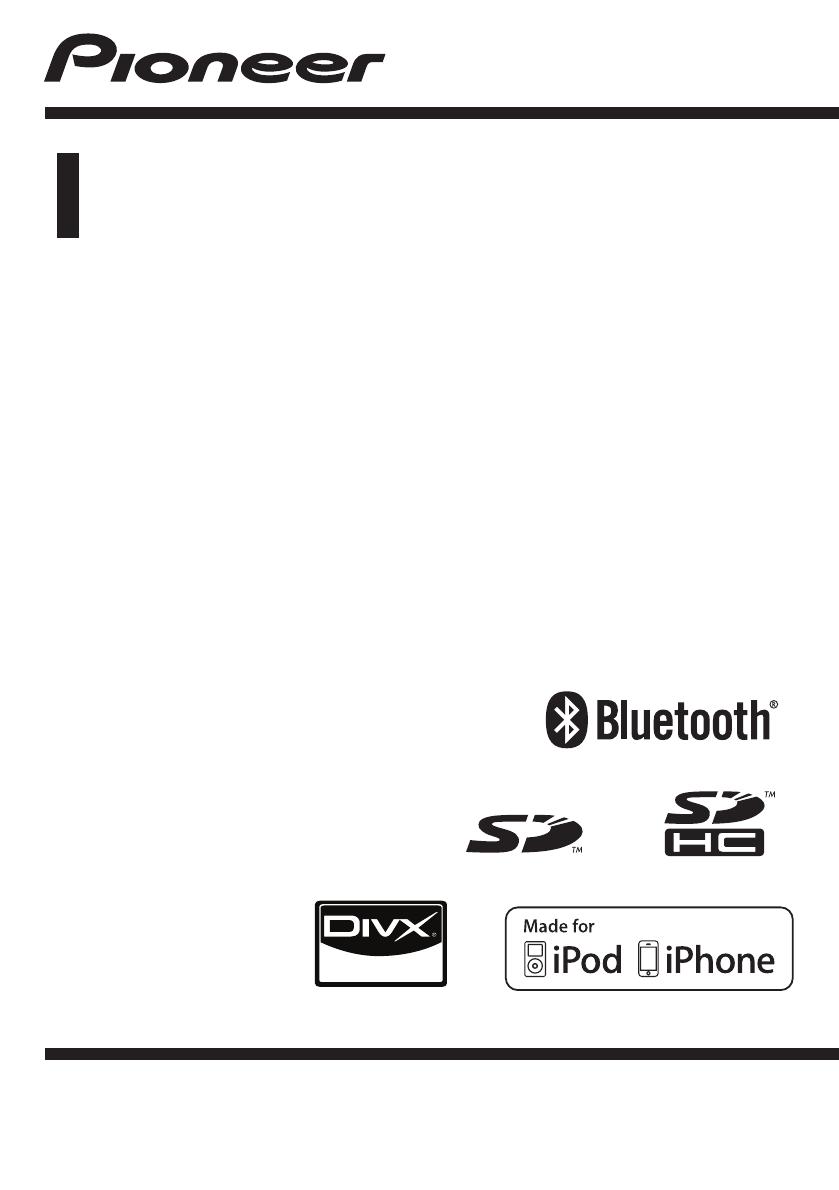 handleiding pioneer mvh 8300bt  pagina 1 van 56   nederlands